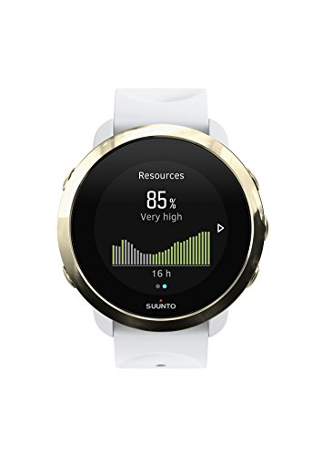 Suunto 3, Sports Watch with Wrist-Based Heart Rate, 24/7 Fitness Activity and Recovery Tracking - Gold