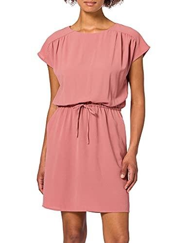 VERO MODA Damen VMSASHA Bali SS Short Dress Color Kleid, Old Rose, S