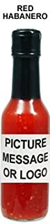 Private Label Hot Sauce - Red Habanero (48 bottles)