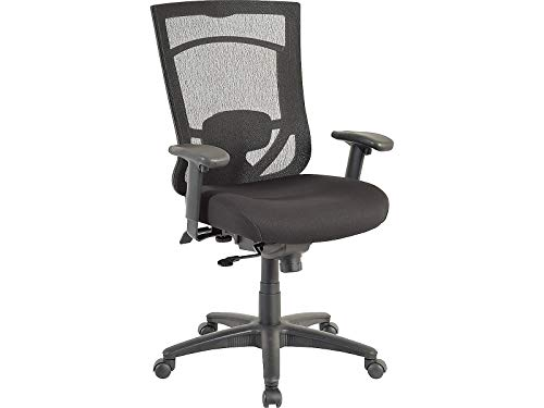 Tempur-Pedic 1539761 Tempur-Pedic Mesh Back Fabric Task Chair Black (TP7000-RAV/COAL)