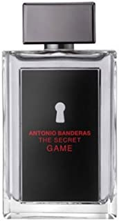 The Secret Game - Perfume para hombre de Antonio Banderas 100 ml EDT Spray