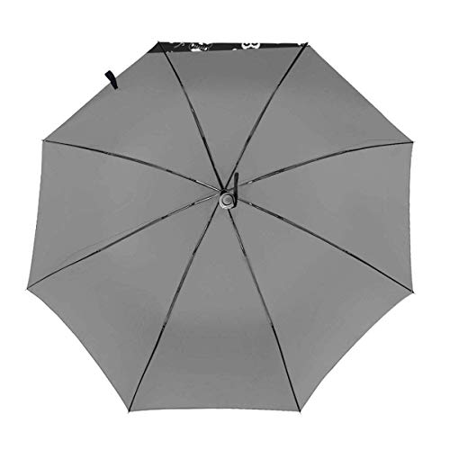 Halloween Skull Automatic Folding Umbrella Dreifach gefalteter Modedruck Clear Umbrella