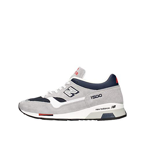 New Balance M1500 Made in England Grey/Blue Trainers - UK 8.5
