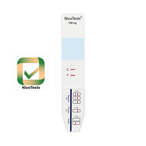 NICOTESTS - Vaping and E-Cigarette Nicotine Urine Test - Easy to Use, Ultra Sensitive, Fast Results (3)