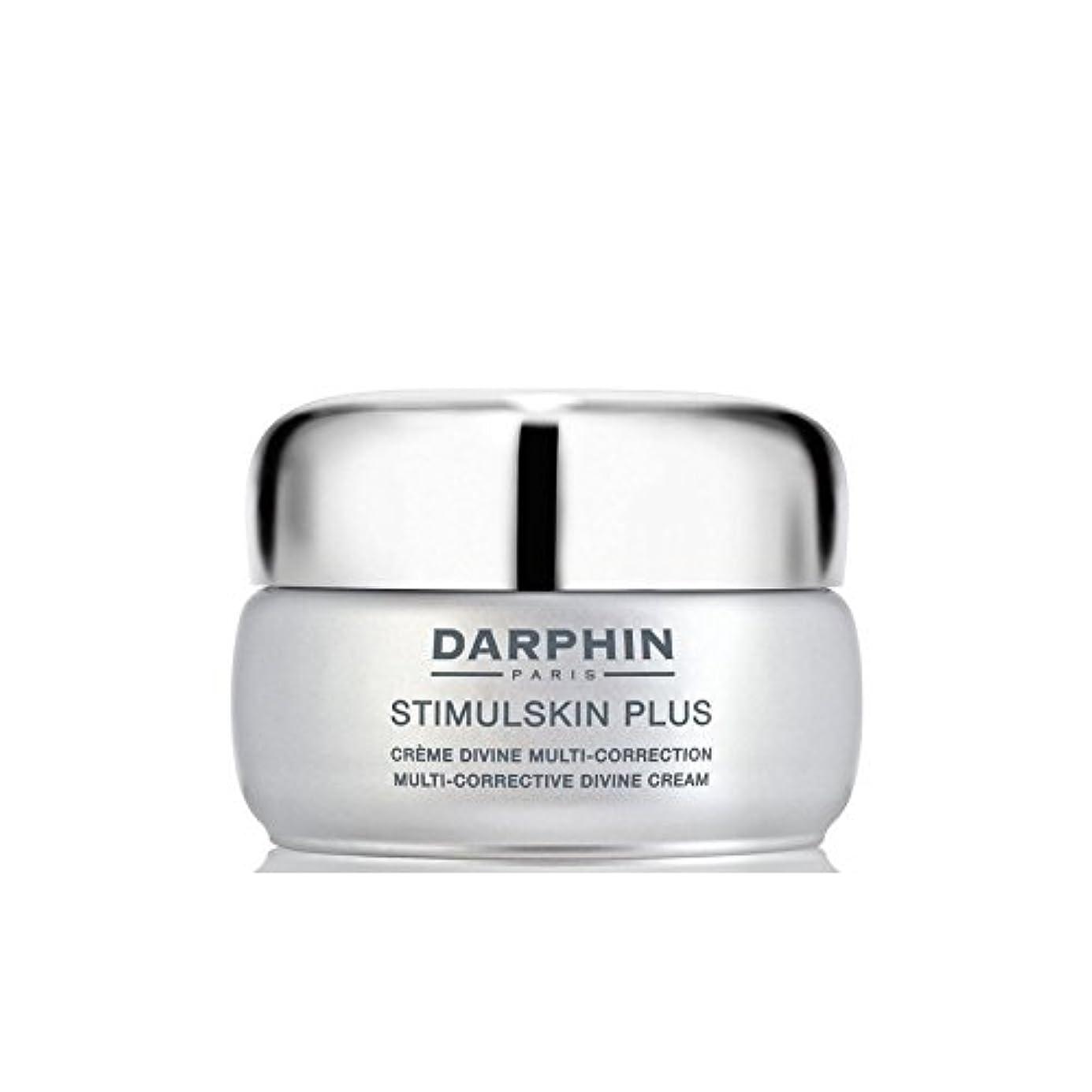 海洋先生切断するダルファンスティプラスマルチ是正神のクリーム x4 - Darphin Stimulskin Plus Multi-Corrective Divine Cream (Pack of 4) [並行輸入品]