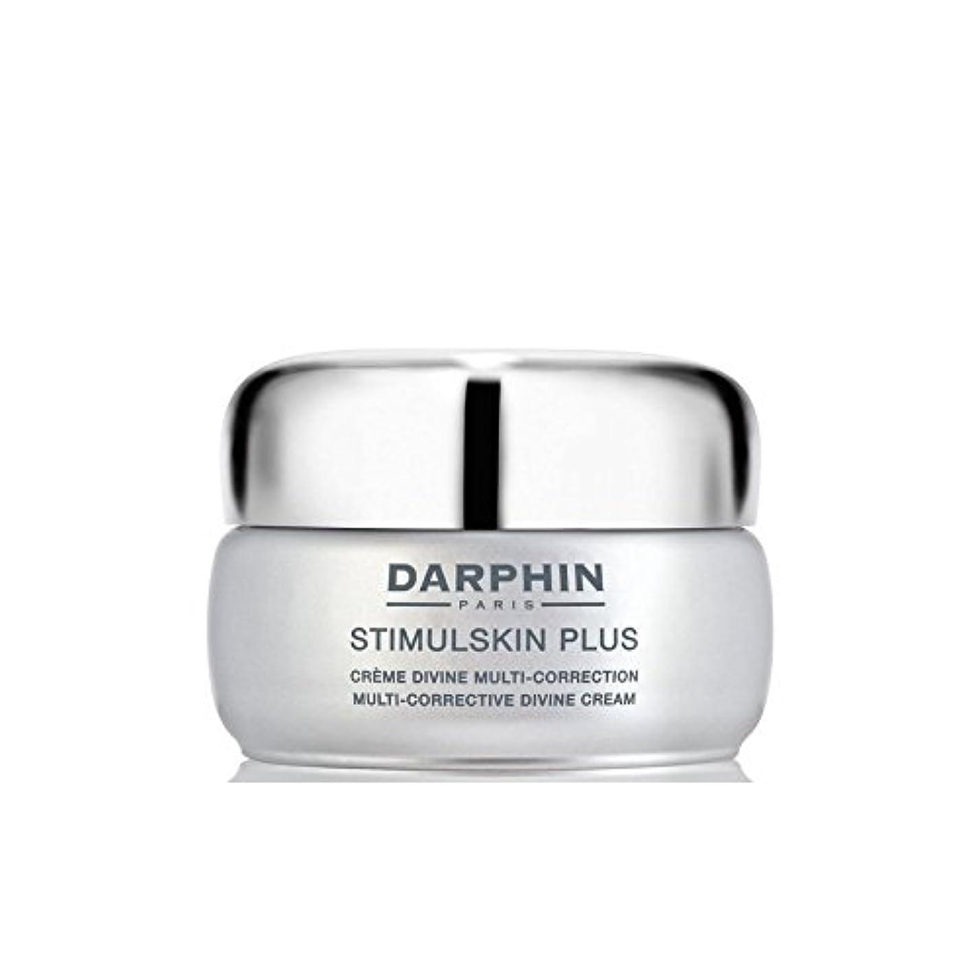 タブレット猛烈な風変わりなダルファンスティプラスマルチ是正神のクリーム x4 - Darphin Stimulskin Plus Multi-Corrective Divine Cream (Pack of 4) [並行輸入品]