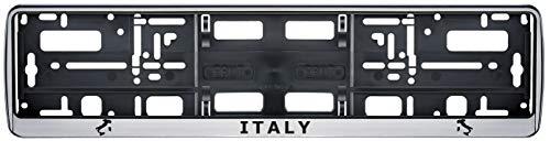 Auto Kennzeichenhalter Nummernschildhalterung Auto, Nummernschildhalter Italien Italy Fahne Flagge 2 Stück