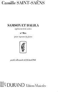 Samson Et Dalila N9B Fr-All Soprano-Pno