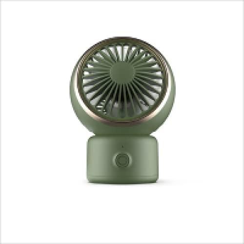 FACAI Ventilatore Portatile Piccolo Ventilatore Portatile Ventilatore USB Silenzioso per Uso Domestico Ventilatore Desktop da Tavolo,A