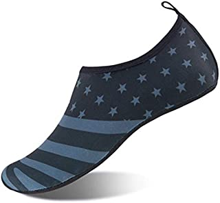Womens and Mens Water Shoes Barefoot Quick-Dry Aqua Socks...