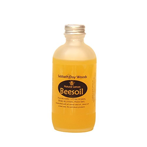 All Natural Food Safe Beesoil for Wooden Kitchen Products