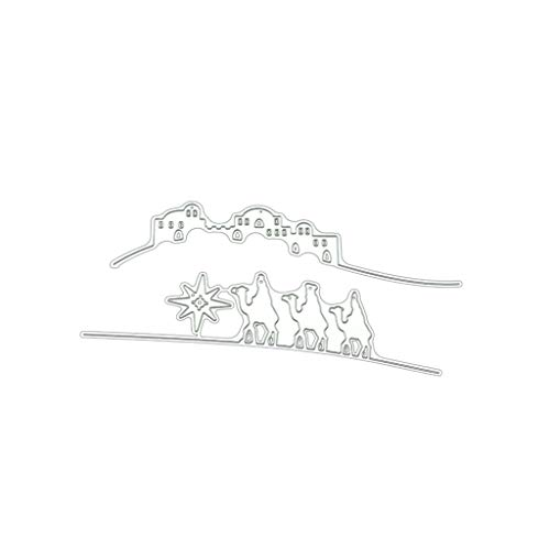 Kamele Stanzform Schablone, Scrapbooking Metall Prägeschablone Stanzmaschine Schablone Schneiden Für Scrapbooking Karten Sammelalbum Deko