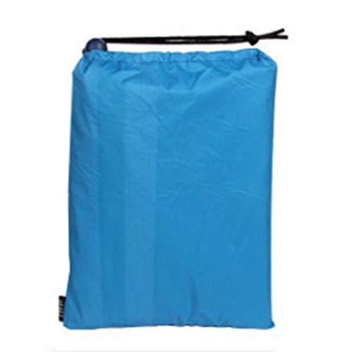 Poncho Regenschutz Regenmantel Haube Wandern Radfahren Regenschutz Poncho Wasserdichtes Zelt Outdoor Camping Zeltmatte Markise Shelter-BlueWasserdichter Regenponcho