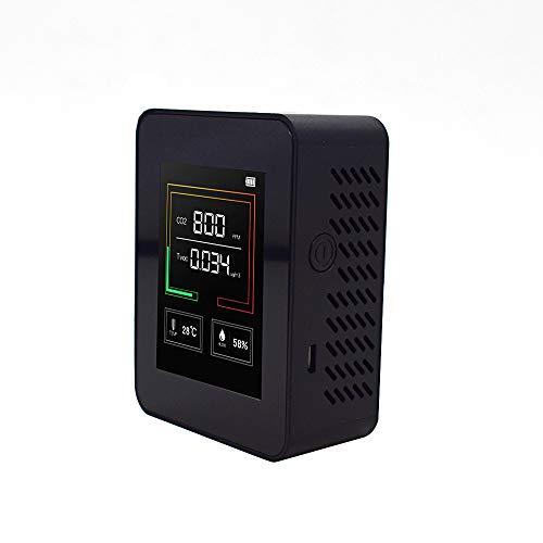 Bioaley CO2-Detektor Luftqualitätsprüfer kompakt Luftfeuchtigkeit Temperatur präzise Kohlendioxid Testgerät