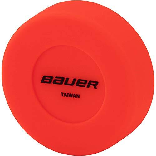 Bauer Puck - STK. Streethockey Ball, Orange, 1size