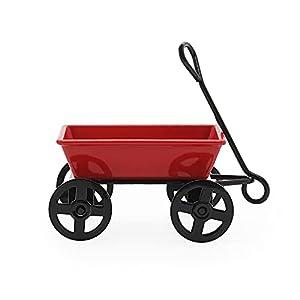 odoria 124 miniature wagon fairy garden wheelbarrow tool dollhouse furniture accessories