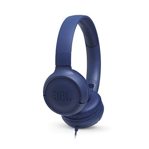 JBL TUNE 500 – Fones de ouvido com fio – Azul