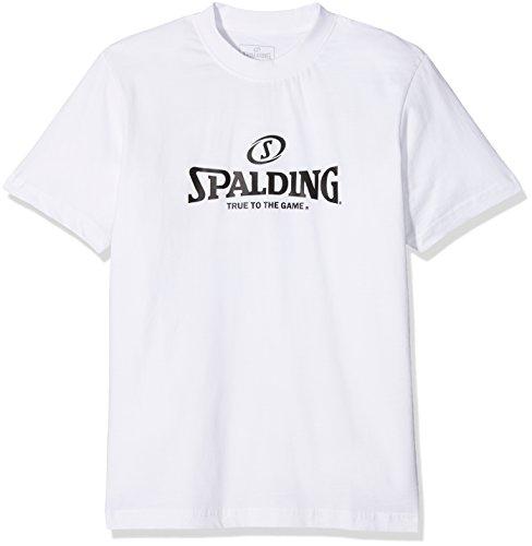 Spalding Uni Bekleidung Teamsport Logo T-Shirt, White, 164