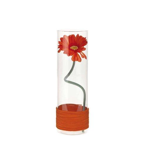 LEONARDO HOME Montana 50921 Vase mit Gerbera orange, Flower
