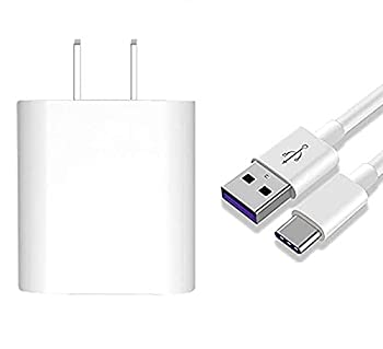 for Huawei Supercharge Power Adapter,4.5V 5A Quick Fast Charger with Super Charging USB Type C Cable Super Charger for Huawei P20 Pro P10 Plus,Mate 9 MT9 Mate 10 Pro Honor  Super Charger
