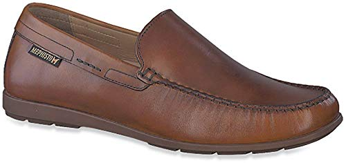 Mephisto Men's Algoras Loafer Brandy Leather 9.5 M US