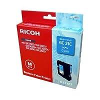 【純正品】 リコー(RICOH) インクカートリッジ シアン 型番:GC21C 単位:1個 ds-1097007
