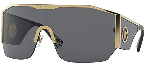 Versace Sonnenbrillen MEDUSA HALO VE 2220 GOLD/DARK GREY 41/14/125 Herren