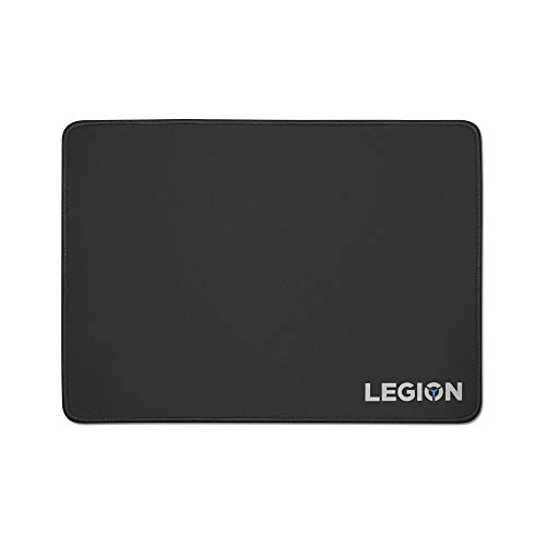 Lenovo Legion Gaming Cloth Mouse Pad, Smooth Glide and a Pixel Point Accuracy, Black Mouse Pad
