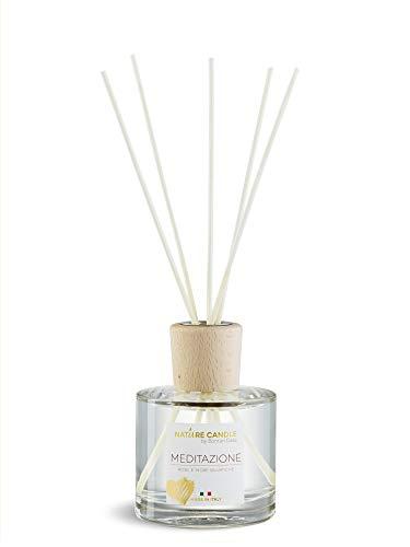 Bonturi Casa 20254209 - Ambientador de Ambiente, Cristal de Madera, Transparente y Natural, 6,5 cm