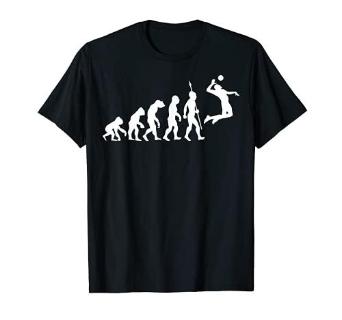 Beach Volleyball Sport Evolution Fun T-Shirt Beachvolleyball