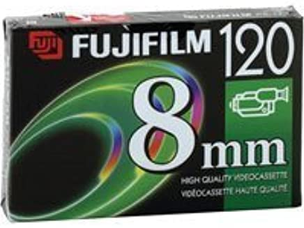 Amazon com : Fuji P6-120 8mm High Quality Videocassette 120 Minutes