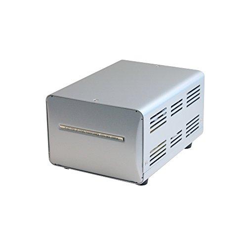 カシムラ 海外国内用 変圧器 AC 220V 〜 240V / 2000W 本体電源プラグ Aプラグ , 出力コンセント A ・ C兼用タイプ(2個付) NTI-151