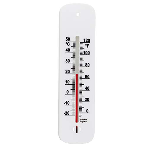 Wall Thermometer Easy To Read 150mm Accurate Room Thermometer For Measuring Indoor Room Temperature In The Home Garden Greenhouse