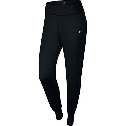 Nike Women's Dri-FIT Thermal Pants Black/Refelctive Silver Pants LG X R