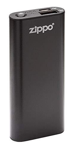 Zippo 2005825 HEATBANK 3 oplaadbare handwarmer en powerbank, aluminium en kunststof, zwart