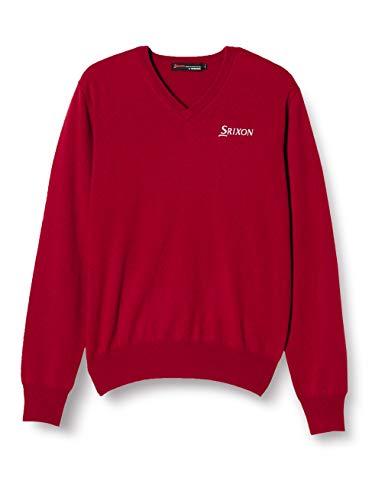 [スリクソン] セーター メンズ SRM2107Y RED(レッド) 日本 3L-(日本サイズ3L相当)