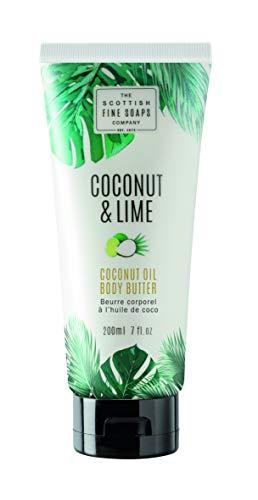 Beurre corporel à l'huile de coco. 200 ml