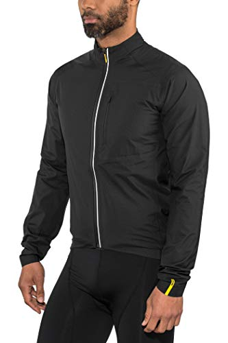 MAVIC Essential H2O Fahrrad Regenjacke schwarz 2020: Größe: L (50/52)
