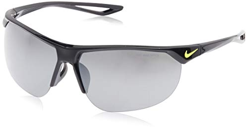 NIKE Cross Trainer EV0937 Gafas de sol, Negro (Black/Vt W/Gry W/Sil Fl L), 67.0 para Hombre