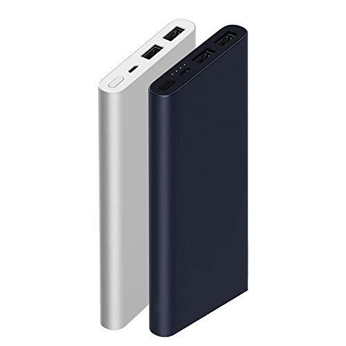 Xiaomi Mi Power Bank2 10000 mAh Quick Charge 2.0 - Batteria esterna USB supplementare per Smartphone e Tablet