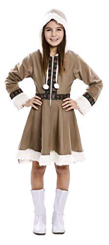TrendLineMix Karneval Kinder Kostüm Eskimo Mädchen Girl Kind Größe 10-12 Jahre 139-155 cm