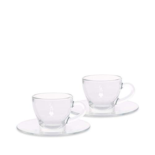 Bialetti DCRAST0008 DCRAST0006 Cappuccinotassen, Glas