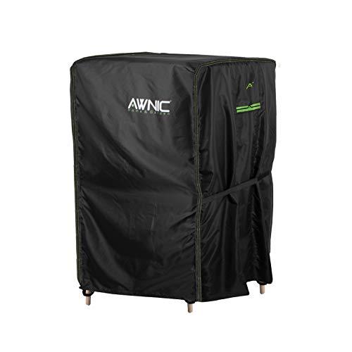 Awnic Gartenstühle Schutzhülle Stühle Stapelstühle Abdeckung Oxford Gewebe Wasserdicht Reißfest 420D Polyester 110X68X68cm