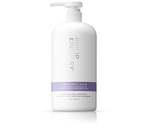 Pure Silver Conditioner (For Dull Discoloured Grey Hair and Brassy Blonde Hair) 1000ml/33.8oz by Philip Kingsley