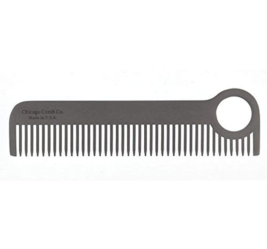 二週間弾丸を除くChicago Comb Model No. 1, Matte Comb, 1.7 Ounce [並行輸入品]