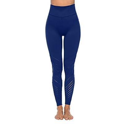 RAINED-Women Yoga Pants Workout Leggings 4 Way Stretch Yoga Leggings Fitness High Rise Tummy Control Activewear