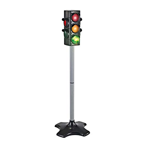 TRIEtree Traffic Lights Toys,Traffic Light Lamp with Base,Living Toy Traffic & Crosswalk Signal with Light & Sound,Children Cognitive Toys for Kids Parties,4 Sided, 2.4 Feet Tall
