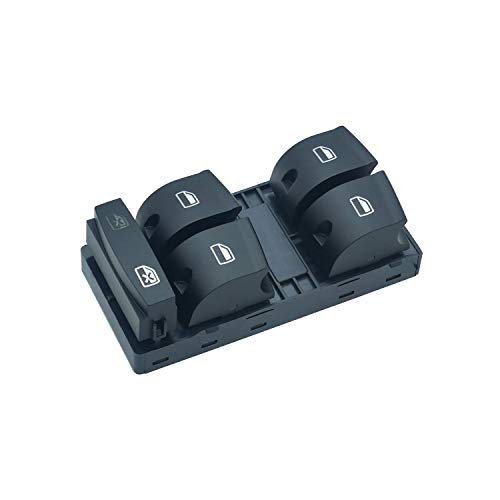 ZEALfix Interruptor de Ventana eléctrica Mando botonera elevalunas 4F0959851 para A3 A6 Q7 4F0959851G 4F0959851A 4F0959851F