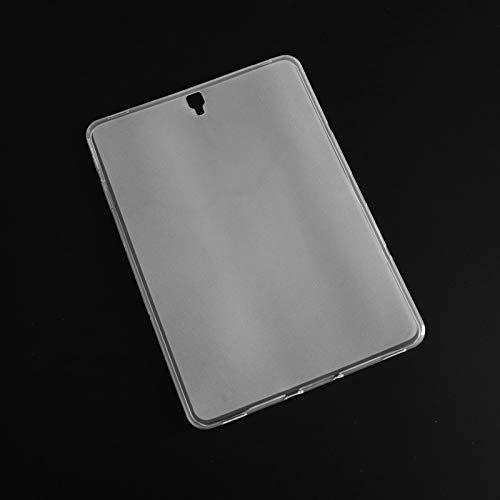 RZL Pad y Tab Fundas para Samsung Galaxy Tab S3 9.7 T820 T825, Mate Tablet Case Mate TPU Funda Transparente para Samsung T820 T825 (Color : Matte Clear)