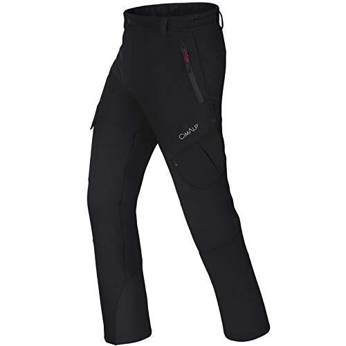 Cimalp Pantalon en Softshell avec guêtres intégrées